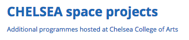 Chelsea_Space_project_logo