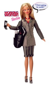 """02 March 2017 #ThrowbackThursday """"This is the real secret of life -- to be completely engaged with what you are doing in the here and now. And instead of calling it work, we realise it is play."""" ― Alan W. Watts #365LoveNotesToSelf Day 17, Barbie by Mattel from my personal collection."""