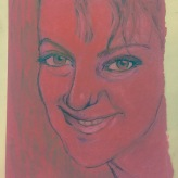 10 April 2017 #MondayMotivation I believe that love--not imitation--is the sincerest form of flattery. Your imitator thinks that you can be duplicated; your lover knows you can't.-Marilyn Vos Savant #365LoveNotesToSelf Day 56, aquarelle and ink on paper (red)
