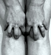 4 June 2017 Me as John Coplans 'Hand spread on knees' 1985 #365LoveNotesToSelf Day 111, digital photograph More: http://www.tate.org.uk/art/artworks/coplans-self-portrait-hands-spread-on-knees-p11673