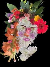 Me as Giuseppe Arcimboldo's 'Flora' 1588 #365LoveNotesToSelf Day 147 digital collage