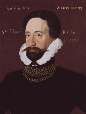 (this one is definitely Bruce) - Sir Thomas Kytson 1573 George Gower c.1540-1596 Purchased 1952 http://www.tate.org.uk/art/work/N06090